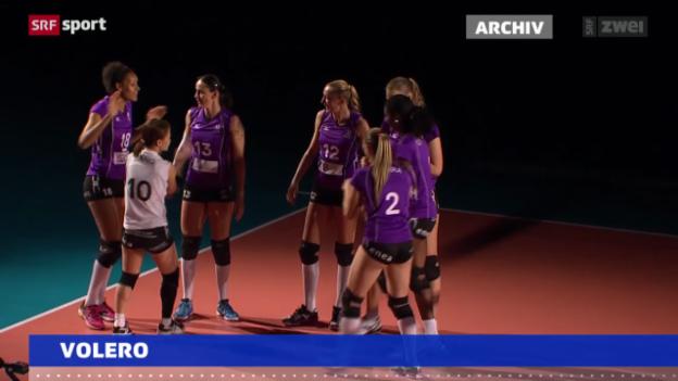 Video «Volleyball: Weitere Niederlage für Volero» abspielen