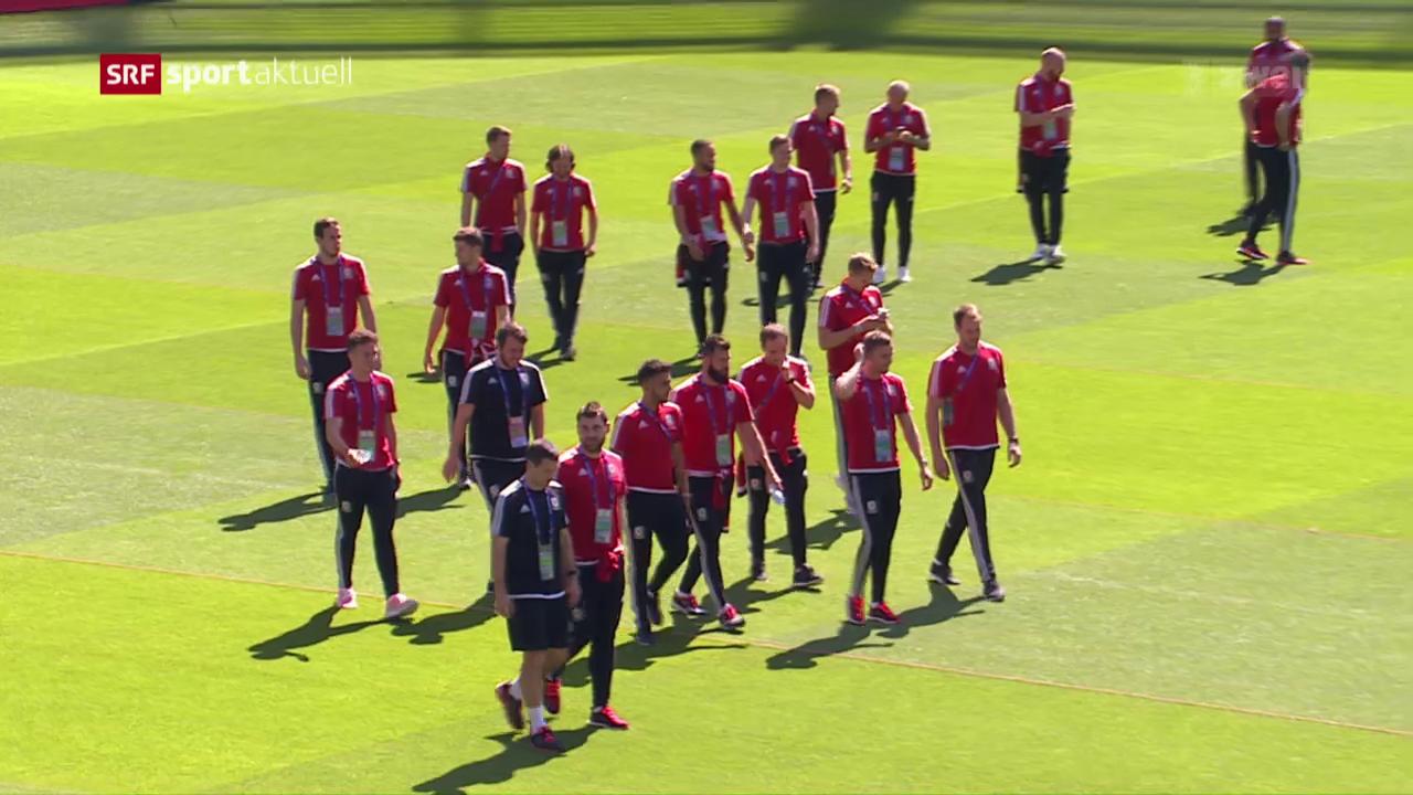 Vorschau auf den Halbfinal Wales-Portugal