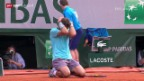Video «Tennis: French Open, Final Nadal - Djokovic» abspielen