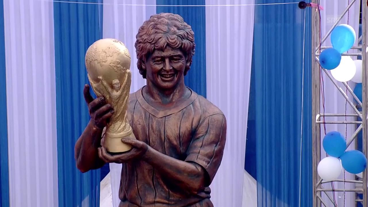 Maradona erhält in Kalkutta eine Statue