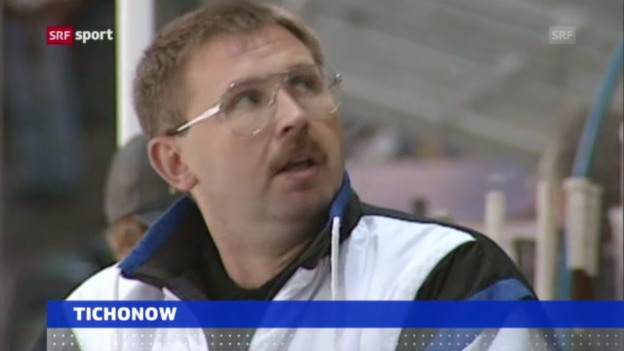 Video «Eishockey: Wassili Tichonow verstorben («sportaktuell»)» abspielen
