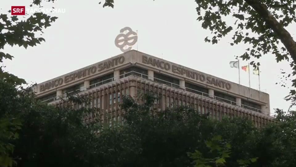 Bankrettung in Portugal