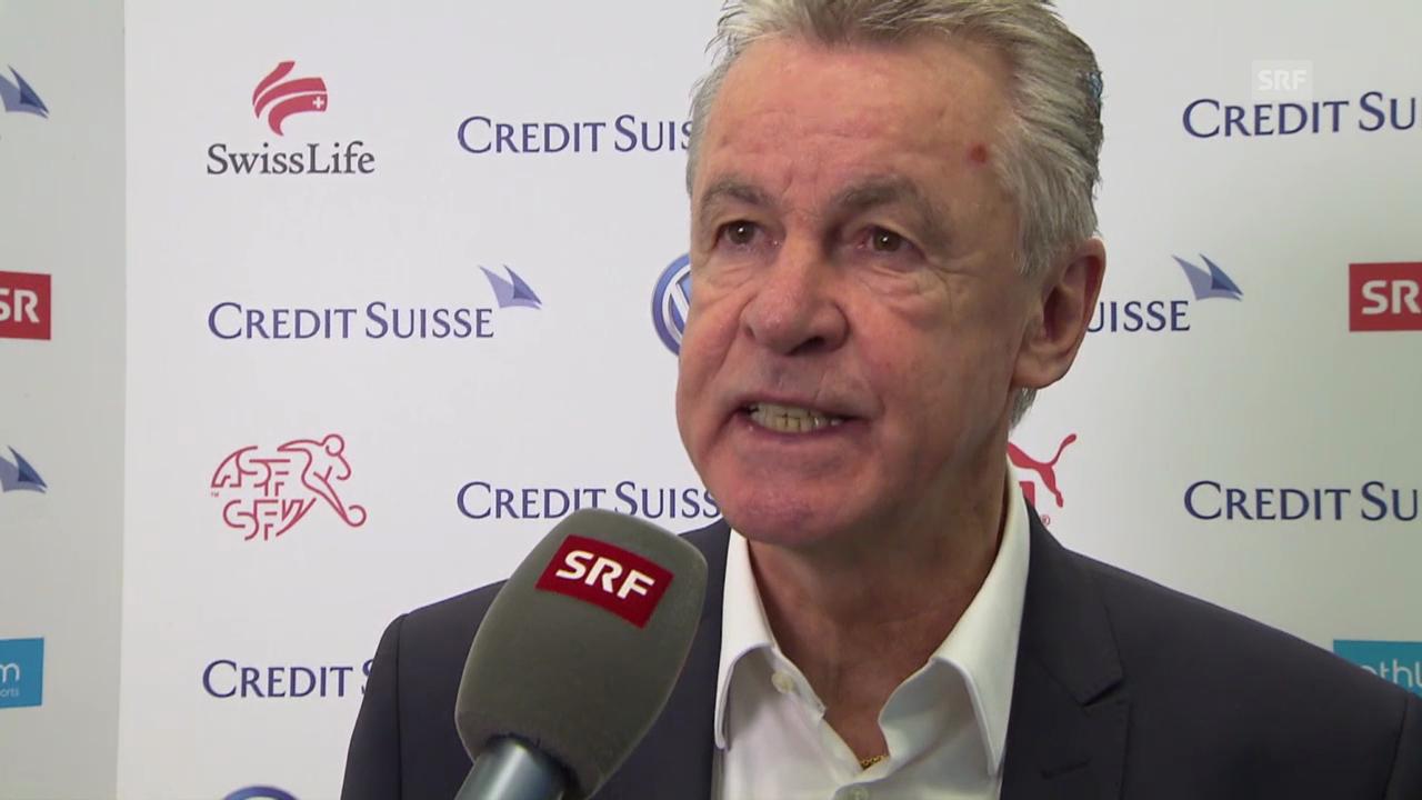Fussball: Nationalmannschaft, Interview mit Ottmar Hitzfeld