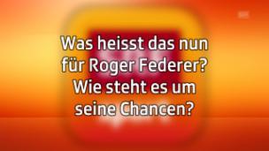 Video ««Federer wird geduldiger sein müssen und mehr Meter laufen»» abspielen