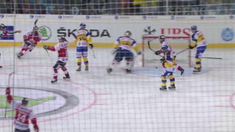 Video «Eishockey: Spengler Cup 2015, Team Canada-Davos 1:0 Giroux» abspielen