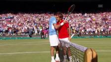 Link öffnet eine Lightbox. Video Federerer, Del Potro und jede Menge Magie abspielen