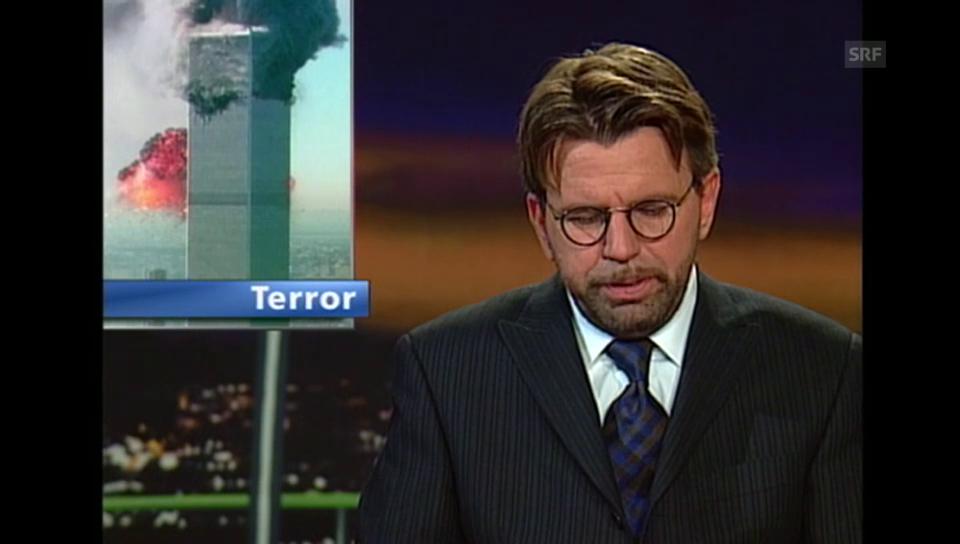 Stephan Klapproth moderiert am 11.9.2001