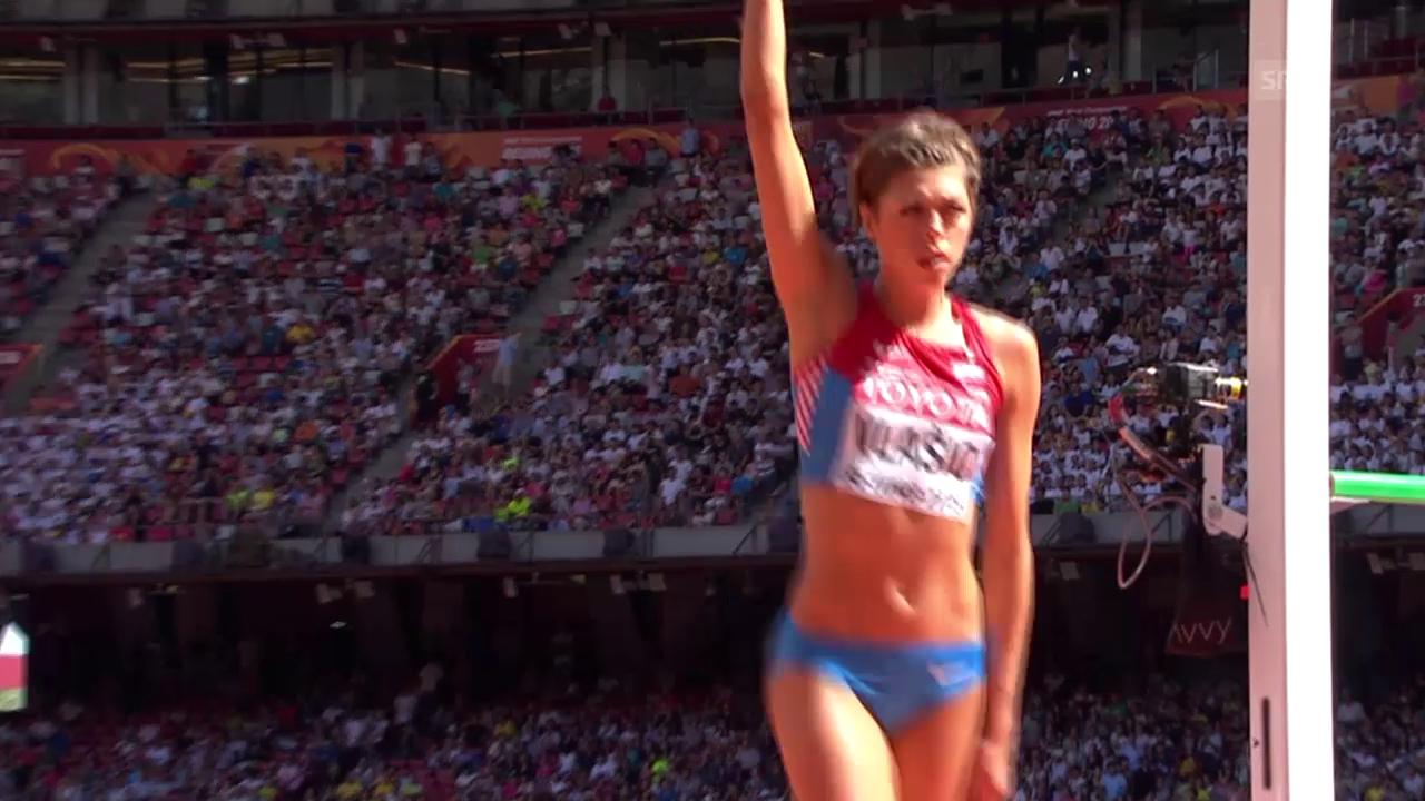 Leichtathletik: WM 2015 in Peking, Hochsprung Frauen, Qualifikation