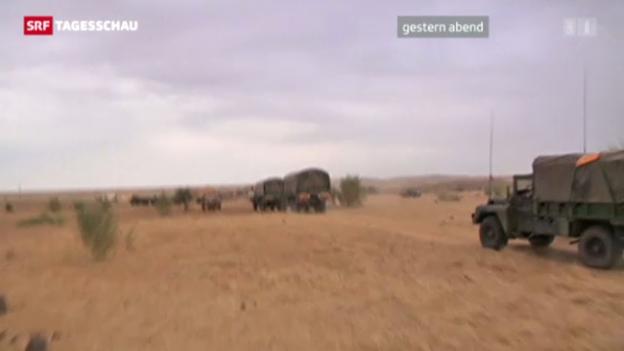 Video «Schneller Vormarsch gegen Islamisten in Mali.» abspielen