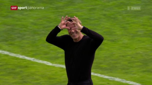 Video «Lugano ärgert Meister Basel» abspielen