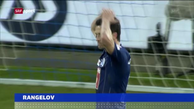 Video «Fussball: Rangelov muss pausieren» abspielen