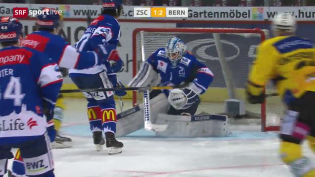 Video «Bern schockt die ZSC Lions zum Playoff-Auftakt» abspielen