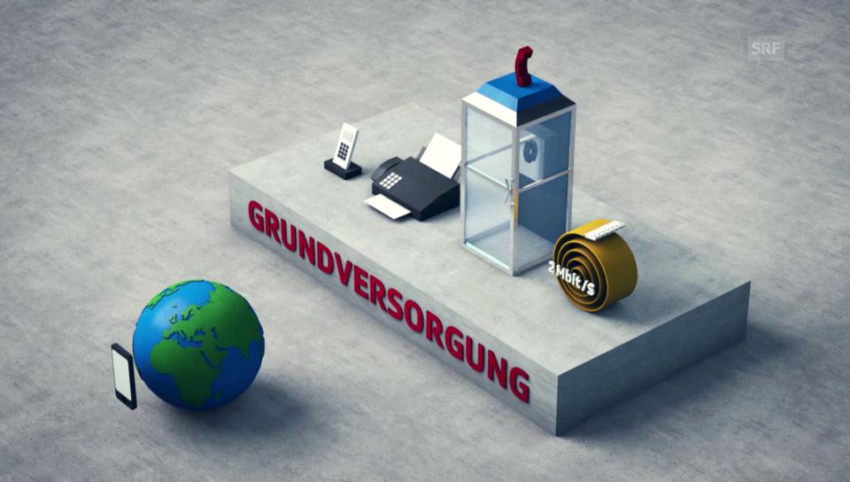 Grundversorgung bei der Swisscom