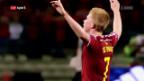 Video «Belgien: Die «roten Teufel» als EURO-Favorit» abspielen