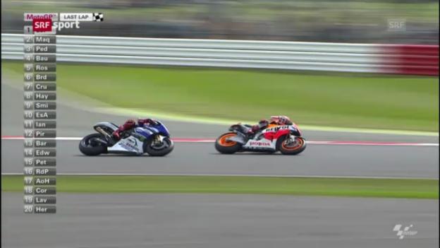 Video «Lorenzo triumphiert in der MotoGP («sportpanorama»)» abspielen