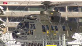 Video «Davos rüstet sich gegen Terroristen» abspielen