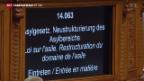 Video «Asyldebatte im Nationalrat» abspielen