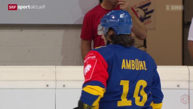 Video «Eishockey: Champions Hockey League, Davos - Färjestad» abspielen