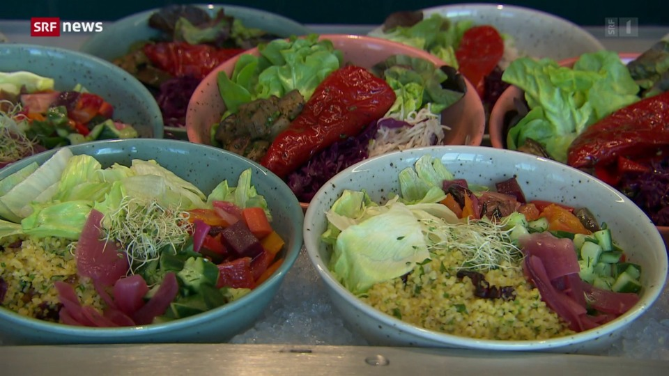 Vegetarischer Trend in Kantinen