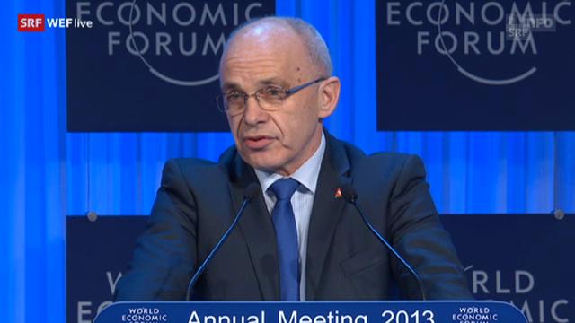 Bundespräsident Ueli Maurer hält Eröffnungsrede