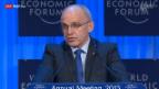 Video «Bundespräsident Ueli Maurer hält Eröffnungsrede» abspielen