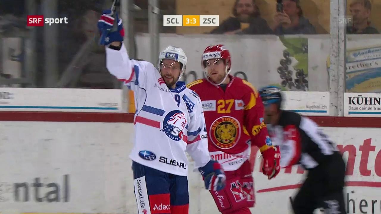 Vom 3:0 zum 3:4: Langnau unterliegt den ZSC Lions