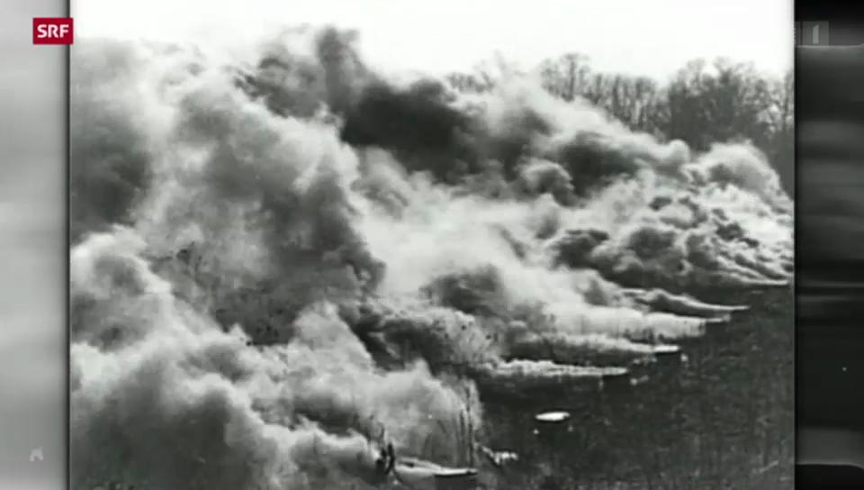 1. Weltkrieg – Urknall der Moderne: Giftgas-Einsätze