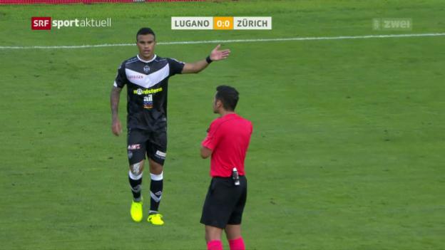 Video «Keine Tore bei Lugano gegen Zürich» abspielen