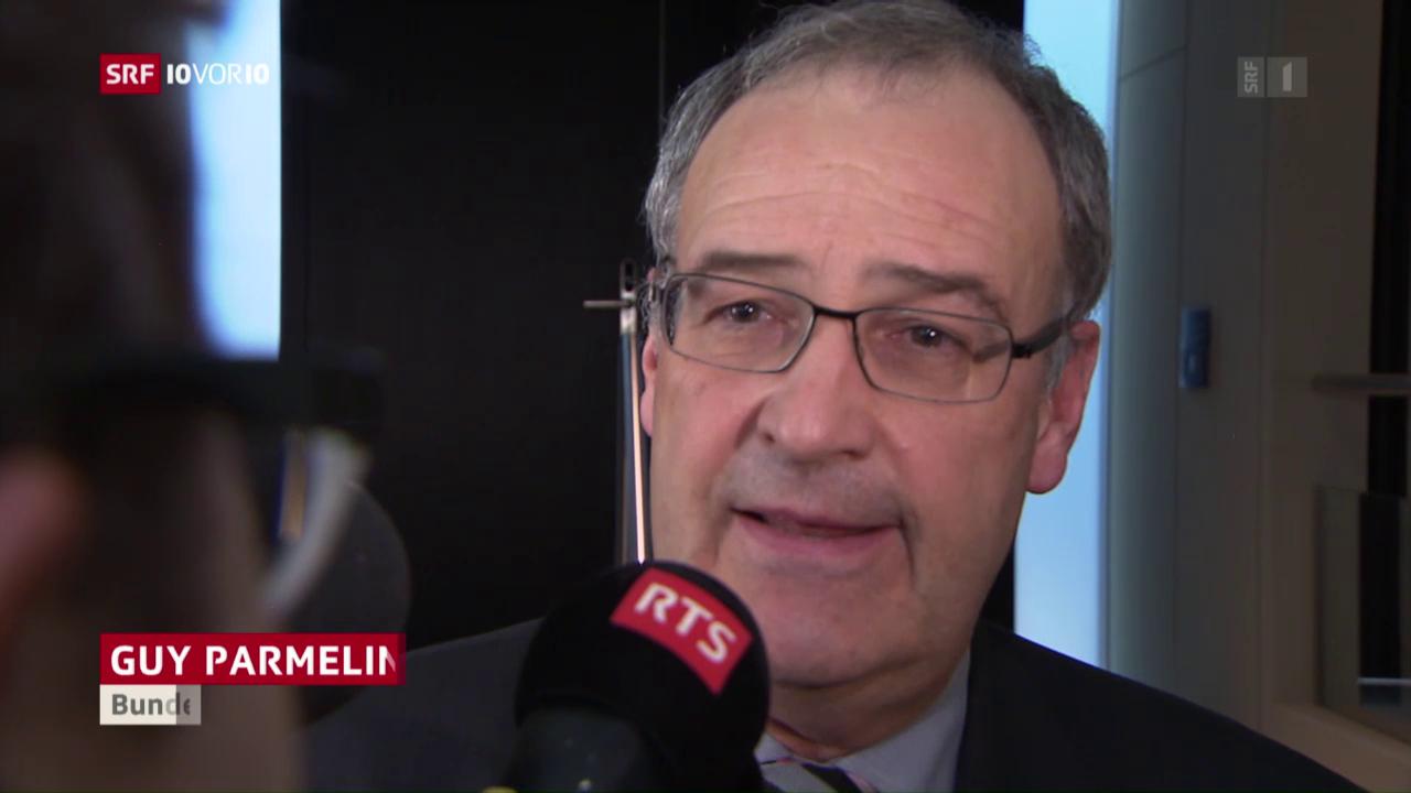 Bauland-Affäre: Hat Parmelin klug kommuniziert?