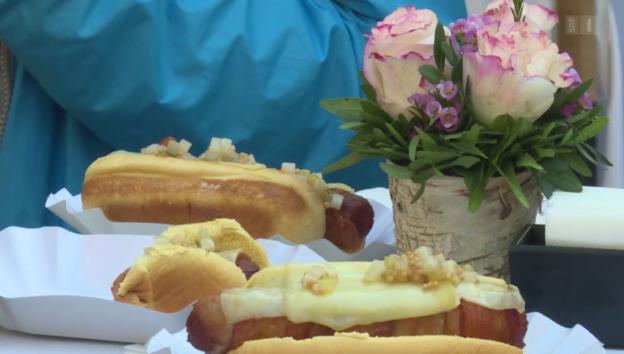 Video «Daniel Humm: Nobel-Hotdogs für alle» abspielen