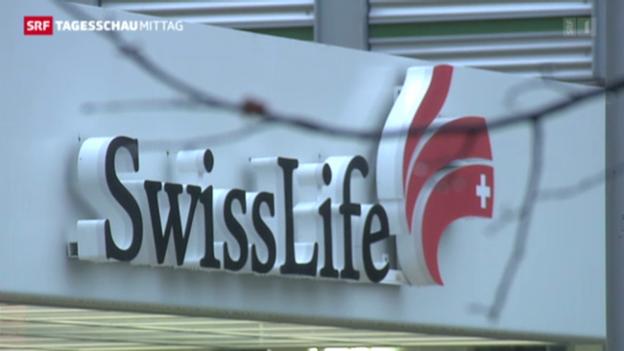 Video «Weniger Gewinn für Swiss Life» abspielen