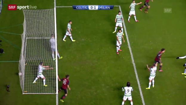 Video «Fussball: CL, Celtic Glasgow - Milan («sportlive»)» abspielen