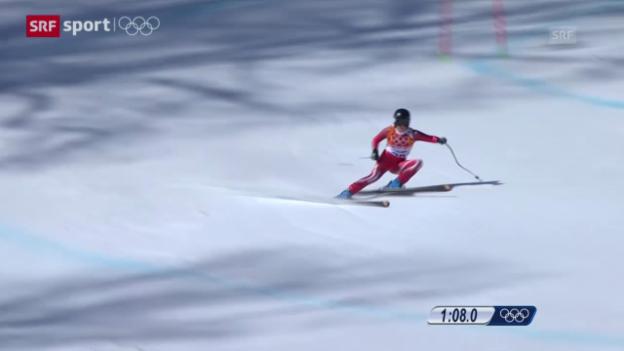 Video «Ski: Super-G der Frauen (sotschi aktuell, 15.02.2014)» abspielen