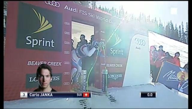 Ski alpin: Die Fahrt von Carlo Janka («sportlive»)