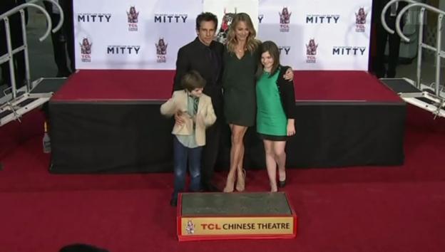 Video «Ben Stiller verewigt» abspielen