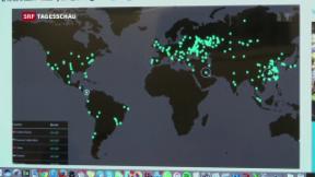 Video «Weltweite Cyber-Attacke legt zehntausende Computer lahm» abspielen