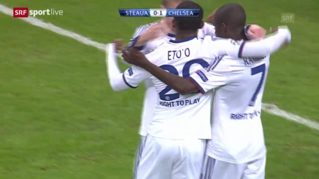 Video «Fussball: Spielbericht Steaua Bukarest - Chelsea («sportlive»)» abspielen
