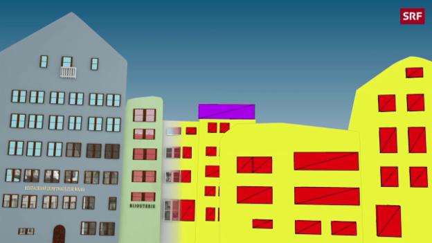 Video «Eine neue Plattform erstellt 3D-Modelle einzig aus Bildinformationen» abspielen