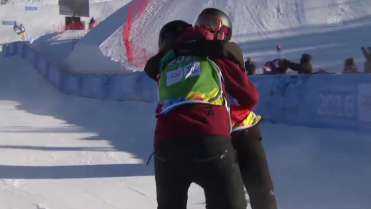Sophie Hediger gewinnt Silber