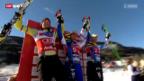 Video «Ski: Männer-Abfahrt in Kvitfjell» abspielen