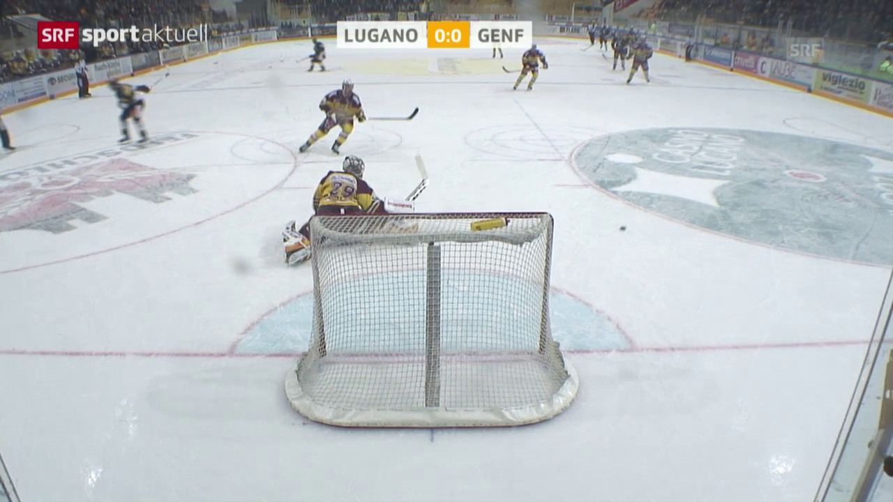 Eishockey: Playoffs, Lugano - Genf