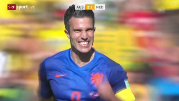 Video «Zusammenfassung Niederlande - Australien» abspielen