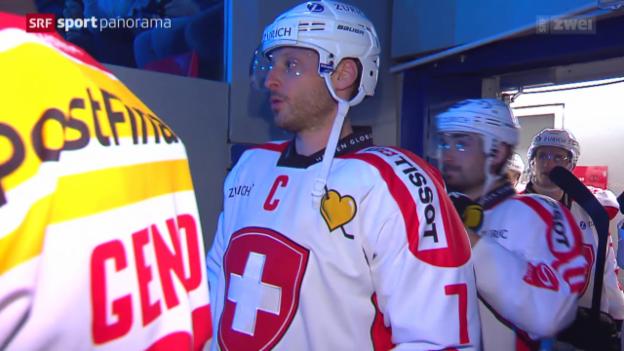Video «Eishockey: Im Vorfeld der WM 2015 in Tschechien, Porträt Mark Streit» abspielen