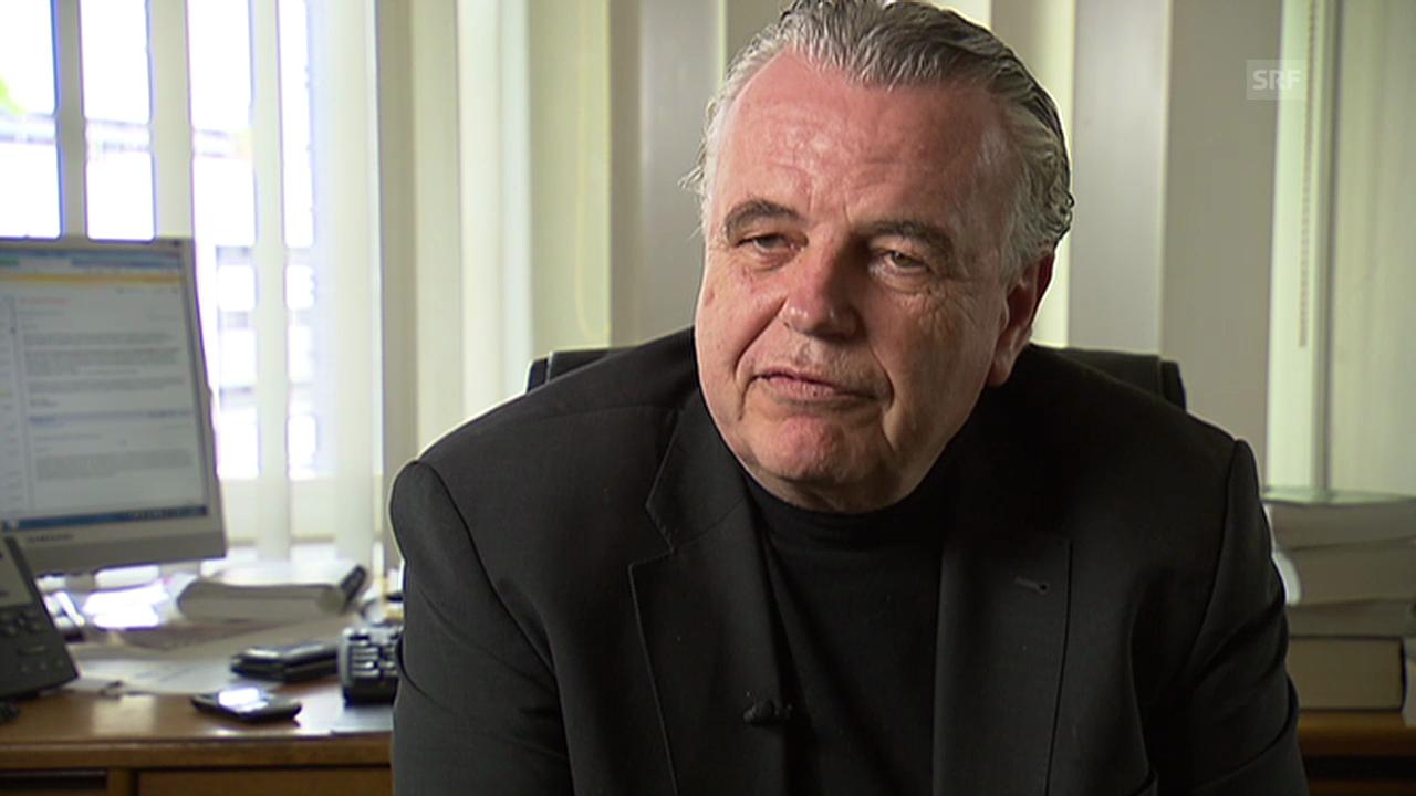 Robert Waldburger über die Interessen der US-Behörden