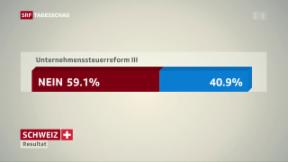 Video «Nein zur Unternehmenssteuerreform III » abspielen
