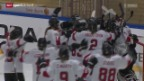 Video «Eishockey: Frauen-WM, Schweiz - Japan» abspielen