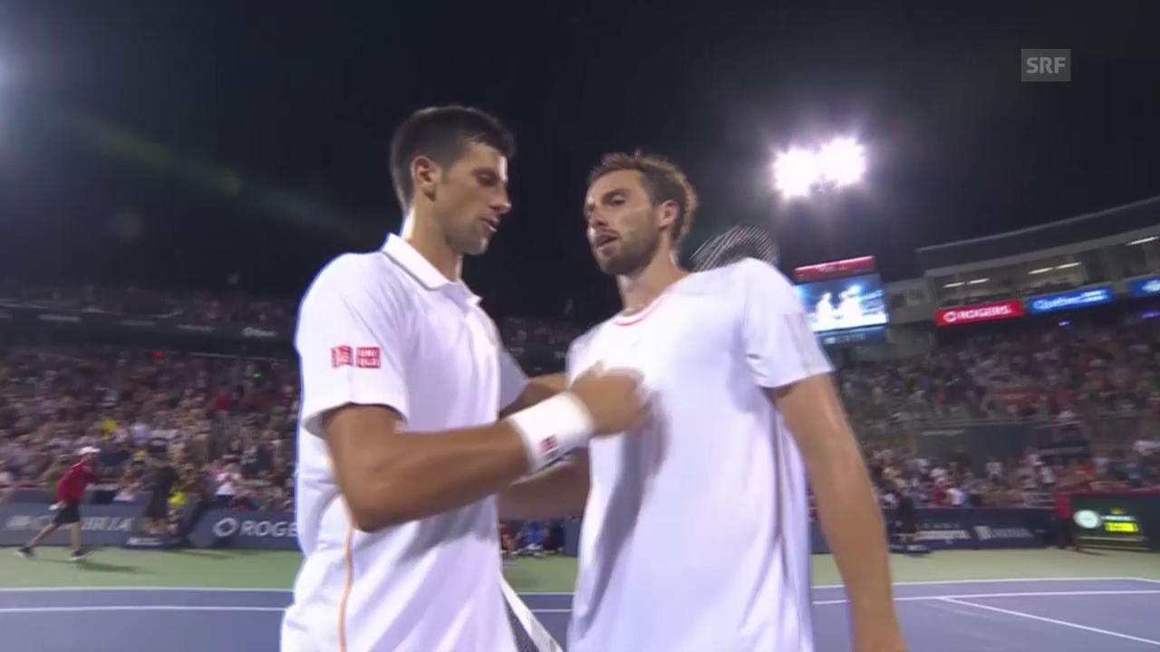 Tennis: ATP Montreal, Djokovic schlägt Gulbis