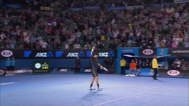 Highlights Wawrinka-Djokovic («sportlive», 20.01.2013)