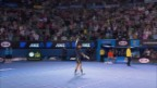 Video «Highlights Wawrinka-Djokovic («sportlive», 20.01.2013)» abspielen