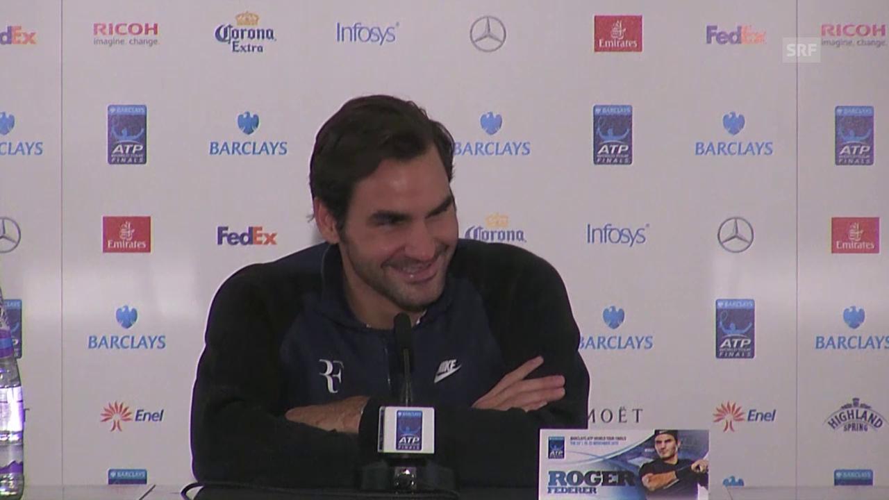 Tennis: ATP Finals, Federer zu seinem Bart